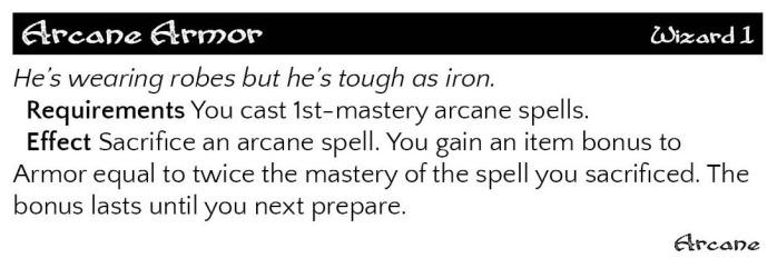 arcane armor