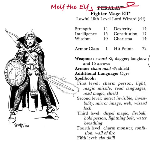 Melf the Elf