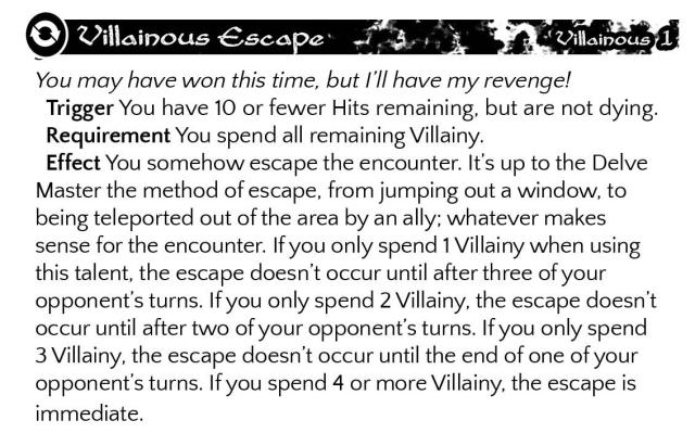 Villainous Escape